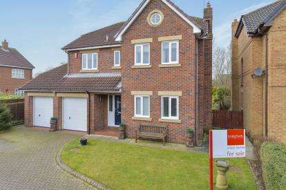 4 Bedrooms Detached House for sale in Regency Park, Ingleby Barwick, Stockton-on-Tees, Durham