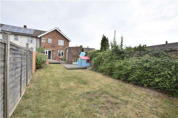 3 Bedrooms End Of Terrace House for sale in Long Handstones, Cadbury Heath, BS30 8AP