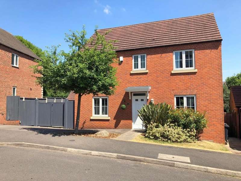 4 Bedrooms Detached House for sale in Poppyfields, Marehay, Ripley