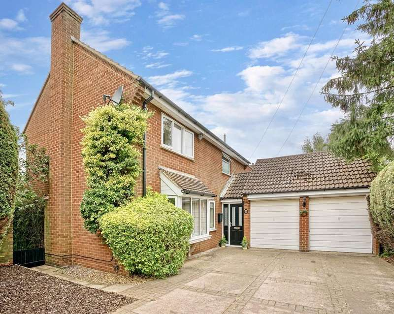4 Bedrooms Detached House for sale in Church End, Everton, Sandy