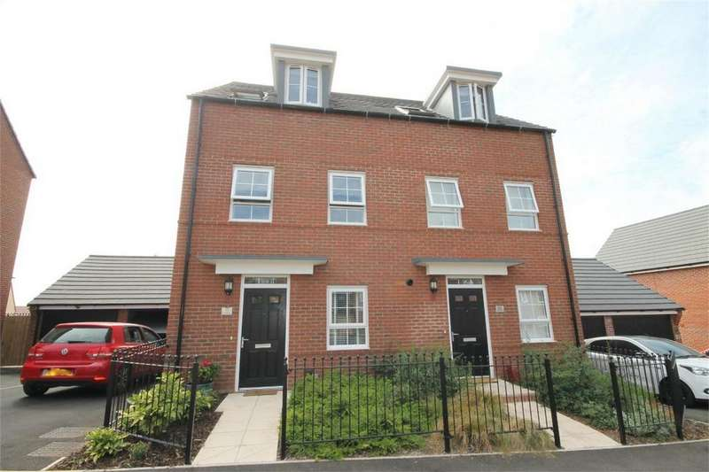 3 Bedrooms Town House for sale in Clayhill Drive, Yate, Bristol