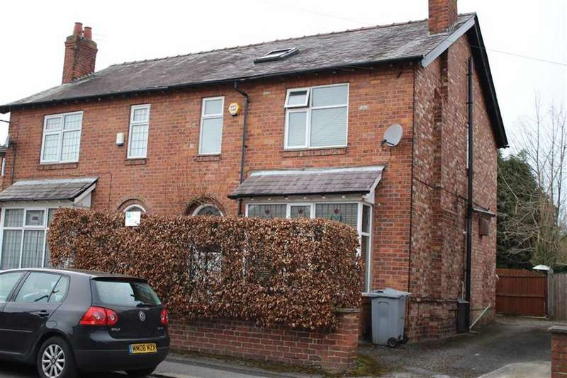 3 Bedrooms Semi Detached House for sale in Wycliffe Avenue, Wilmslow
