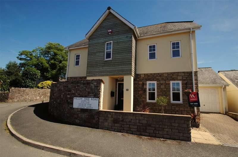 4 Bedrooms Detached House for sale in Willow Tree Road, Barnstaple