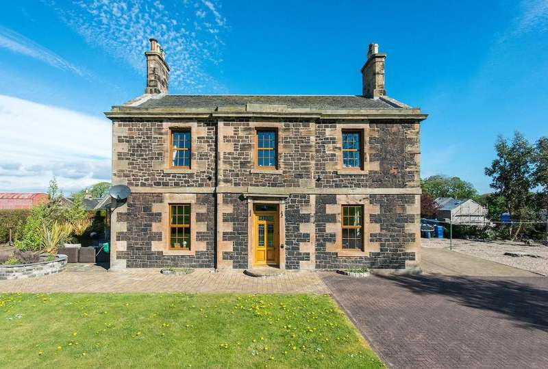 5 Bedrooms Detached House for sale in Currievale Farmhouse, Currie, Midlothian