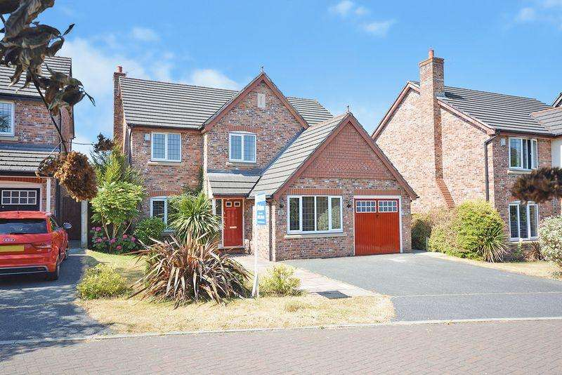 5 Bedrooms Detached House for sale in Stanford Close, Northwich