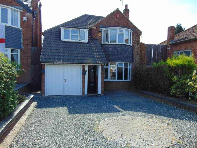 3 Bedrooms Detached House for sale in Calthorpe Close, Walsall