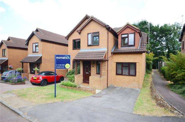 4 Bedrooms Link Detached House for sale in Sibley Park Road, Earley, Reading