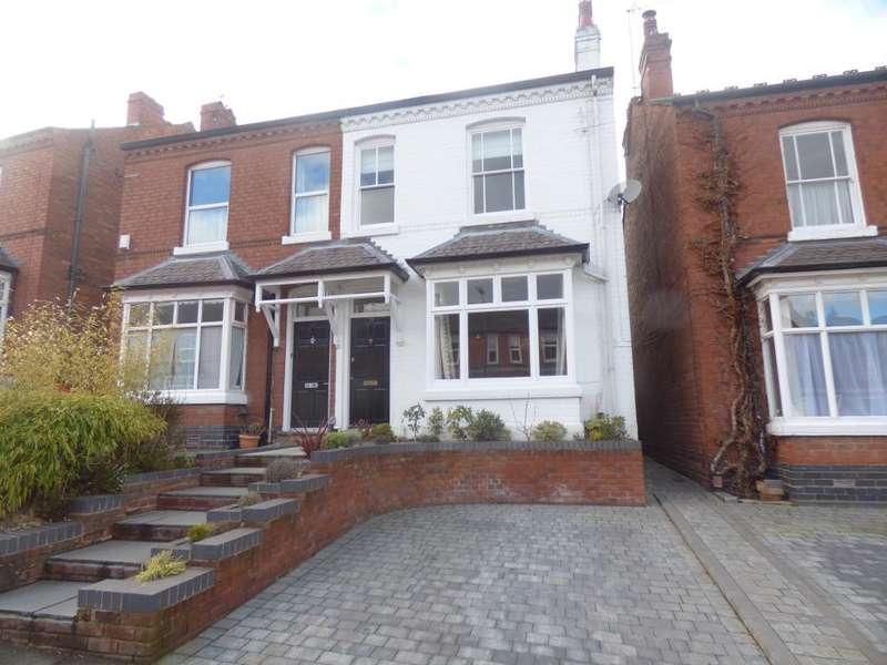 4 Bedrooms Semi Detached House for sale in Park Hill Road, Harborne, Birmingham, B17 9HJ