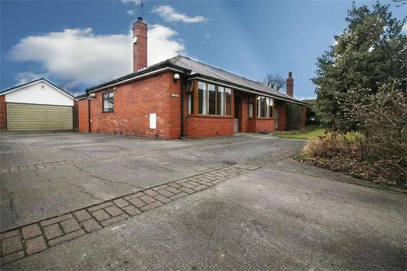 3 Bedrooms Detached Bungalow for sale in Runshaw Lane, Euxton, CHORLEY, Lancashire