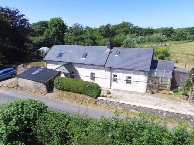 3 Bedrooms Smallholding Commercial for sale in Mydroilyn, Near Aberaeron