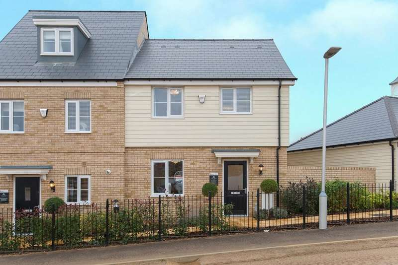 3 Bedrooms Semi Detached House for sale in Tall Trees, Biggleswade Road, Potton, SG19