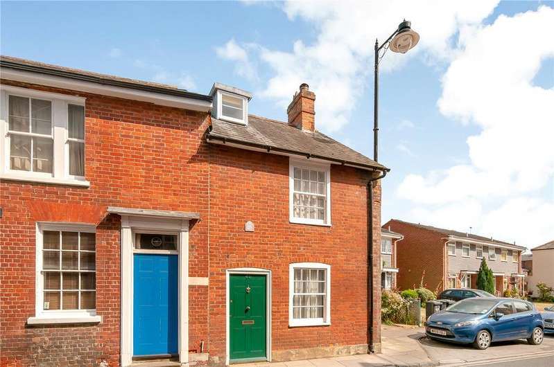 2 Bedrooms End Of Terrace House for sale in Cherville Street, Romsey, Hampshire, SO51