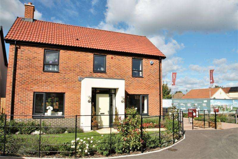 5 Bedrooms Detached House for sale in Broad Blunsdon Heights, Blunsdon, Wiltshire