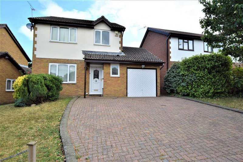 3 Bedrooms Detached House for sale in Spires Walk, Barry