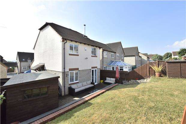 3 Bedrooms Detached House for sale in Belfry, Warmley, BS30 8GG