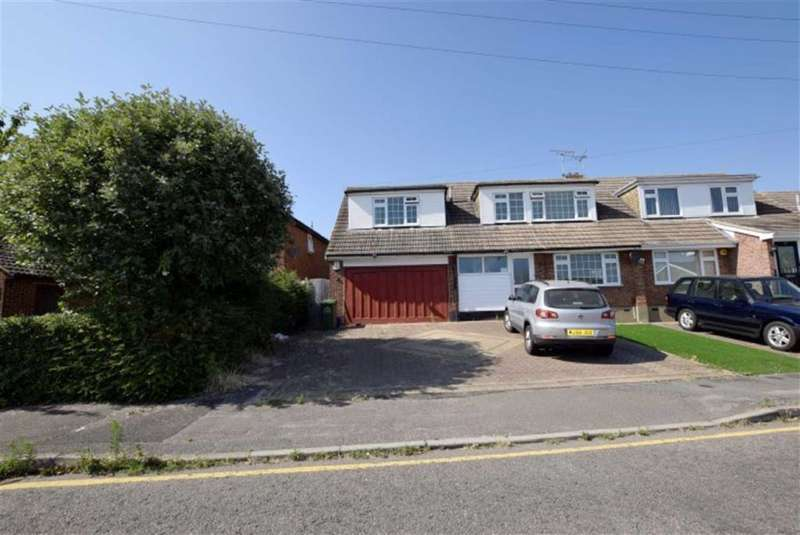 4 Bedrooms Semi Detached House for sale in Brackendale Avenue, Basildon, Essex