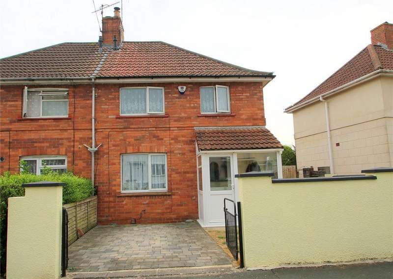 3 Bedrooms Semi Detached House for sale in Camberley Road, Knowle, BRISTOL, BS4