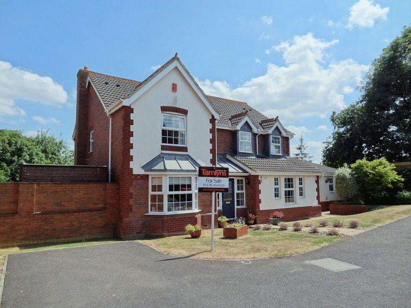 5 Bedrooms Detached House for sale in Vickery Close, Bridgwater