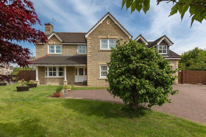 5 Bedrooms Detached House for sale in 111 Whitehaugh Park, Peebles, EH45 9DB