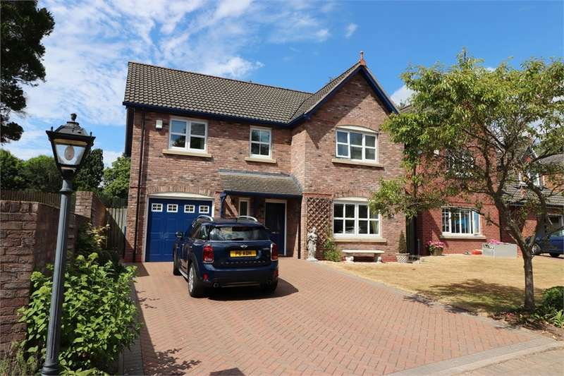 4 Bedrooms Detached House for sale in CA1 3TW Twickenham Court, Parkland Village, CARLISLE, Cumbria
