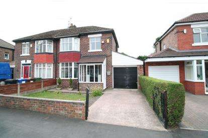 3 Bedrooms Semi Detached House for sale in Boundary Road, Cheadle, Cheshire