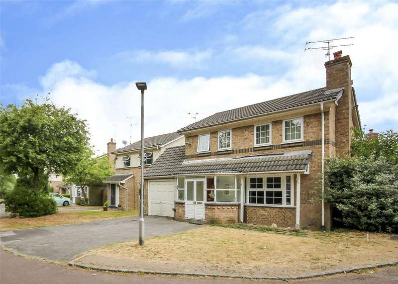 4 Bedrooms Detached House for sale in Hatchgate Copse, Bracknell, Berkshire, RG12