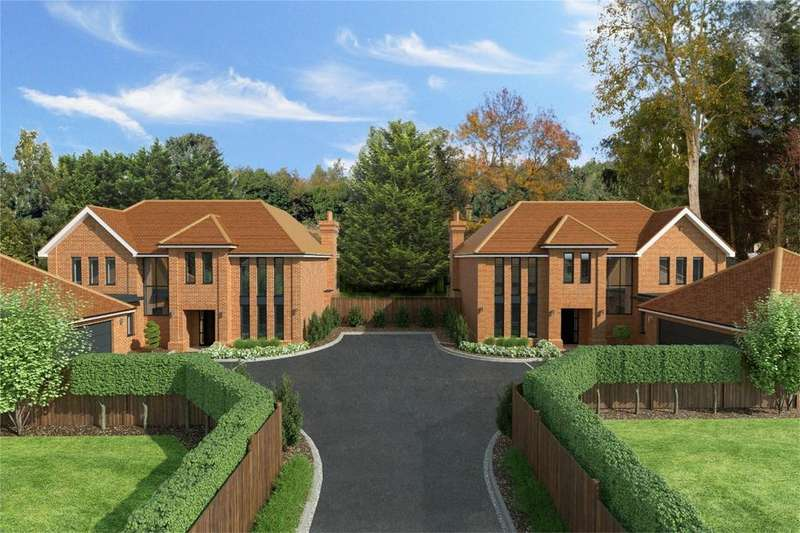 5 Bedrooms Detached House for sale in Madigan Place, Pine Grove, BISHOP'S STORTFORD, Hertfordshire