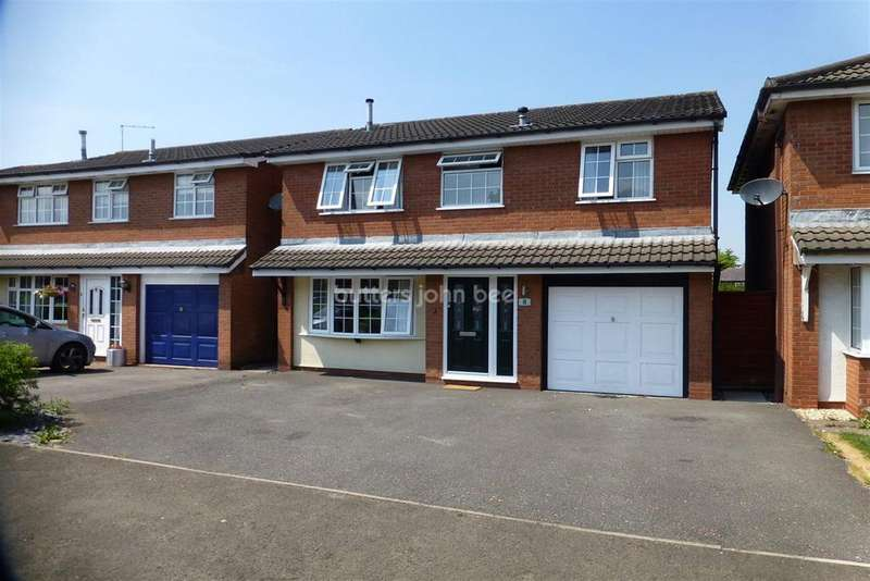4 Bedrooms Detached House for sale in Lavender Drive, Rudheath