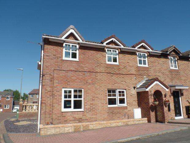 4 Bedrooms Semi Detached House for sale in BROUGHAM COURT, PETERLEE, OAKERSIDE, PETERLEE