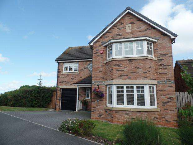 4 Bedrooms Detached House for sale in CROSSWAYS COURT, THORNLEY, PETERLEE AREA VILLAGES