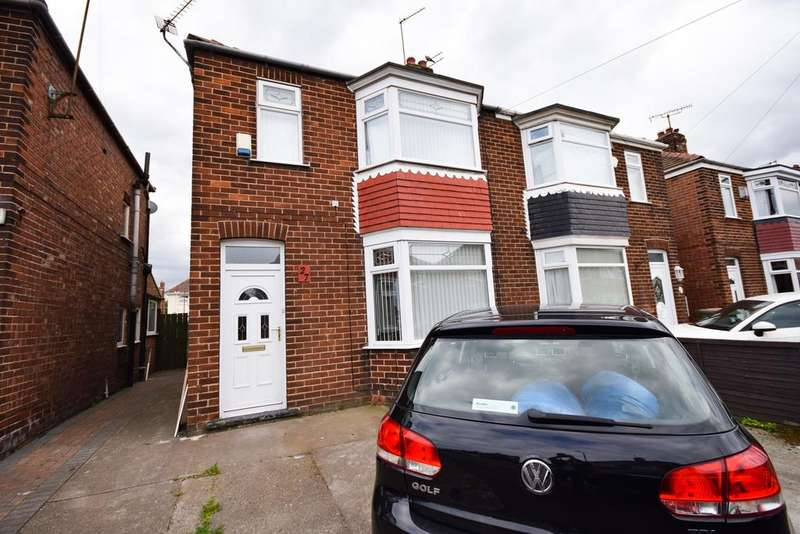3 Bedrooms Semi Detached House for sale in Boulby Road, Redcar TS10