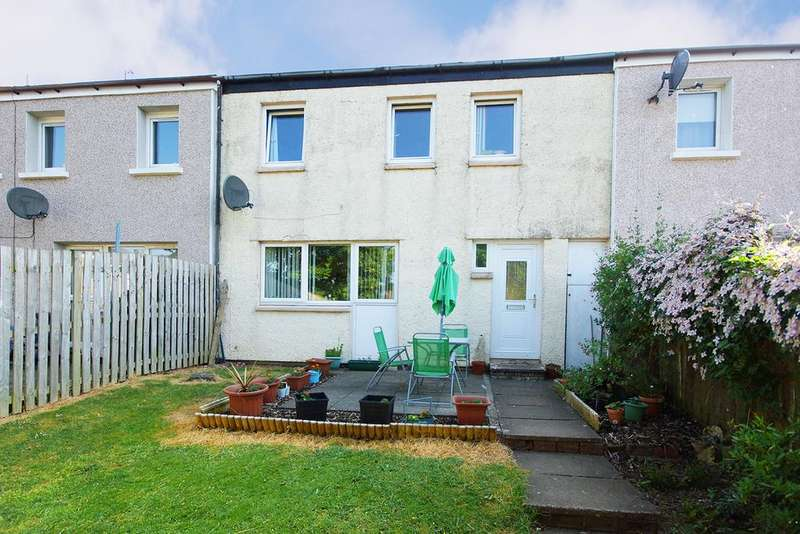 4 Bedrooms Terraced House for sale in Craignaw Place, Irvine
