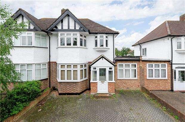4 Bedrooms Semi Detached House for sale in Rutland Drive, MORDEN, Surrey, SM4 5QH
