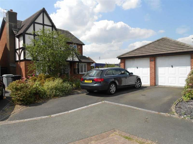 4 Bedrooms Detached House for sale in James Atkinson Way, Leighton, Crewe, Cheshire