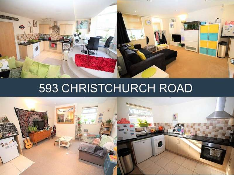 1 Bedroom Block Of Apartments Flat for sale in Christchurch Road, Boscombe, Bournemouth, BH1