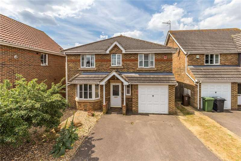 4 Bedrooms Detached House for sale in Silk Mill Road, Redbourn, Hertfordshire