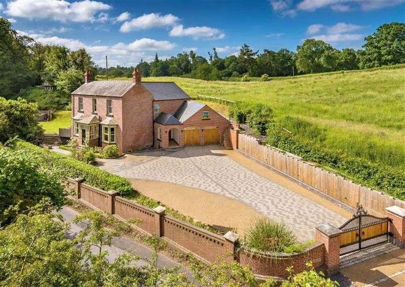 5 Bedrooms Detached House for sale in Springholme, Knowle Sands, Knowle Sands, Bridgnorth, Shropshire, WV16