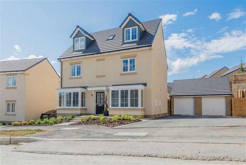 5 Bedrooms Detached House for sale in Brompton Drive, Apperley Bridge, Bradford, West Yorkshire, BD10