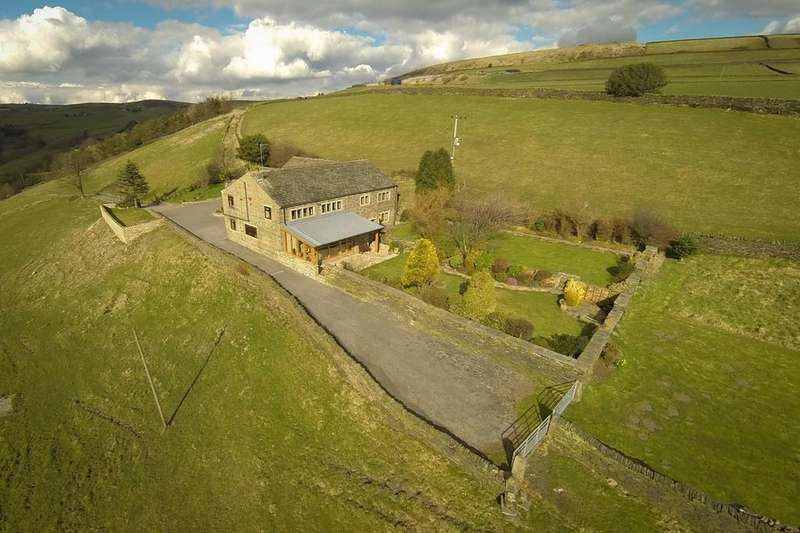 5 Bedrooms Detached House for sale in Eaves House, Stocks Lane, Luddenden, HX2 6PR