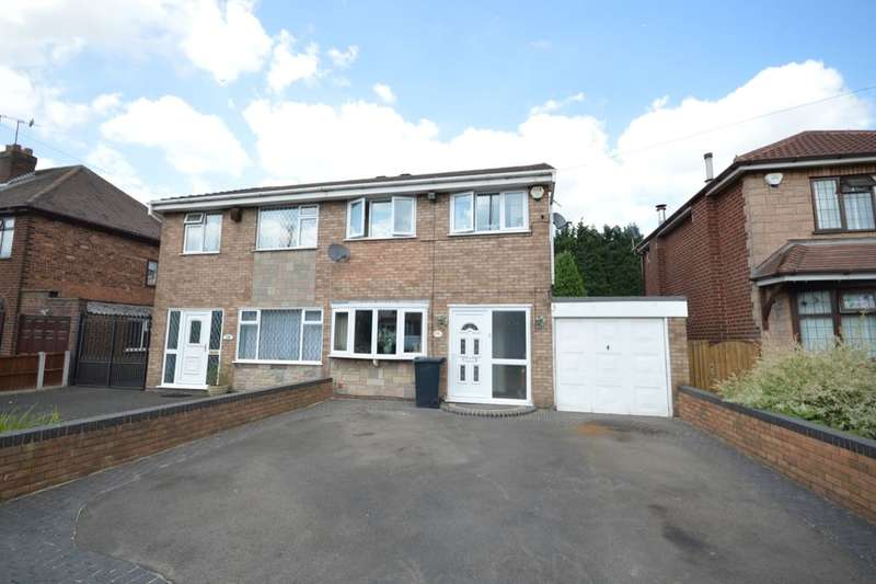 3 Bedrooms Semi Detached House for sale in Sedgley Road, Tipton, DY4