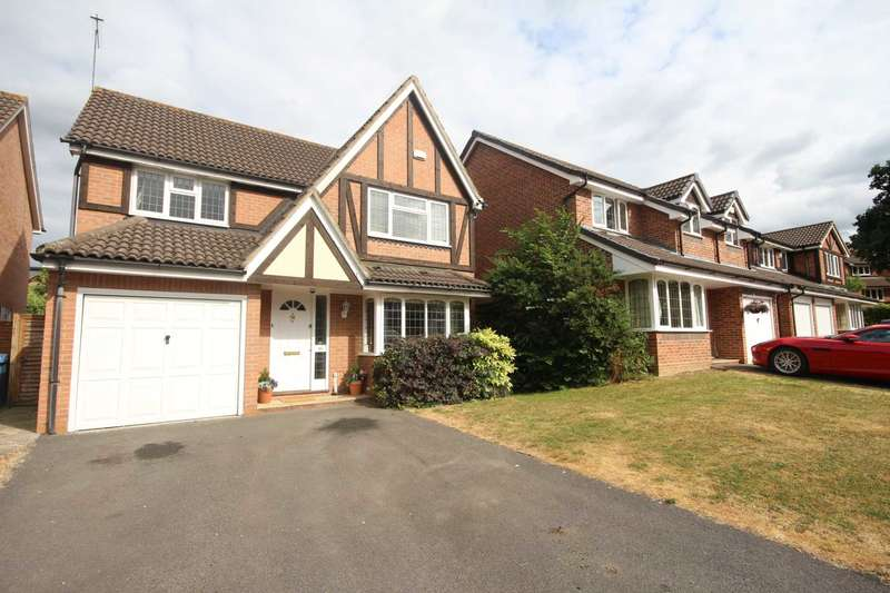 4 Bedrooms Detached House for sale in Shakespeare Way, Warfield
