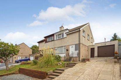 3 Bedrooms Semi Detached House for sale in Hillfoot Road, Ayr