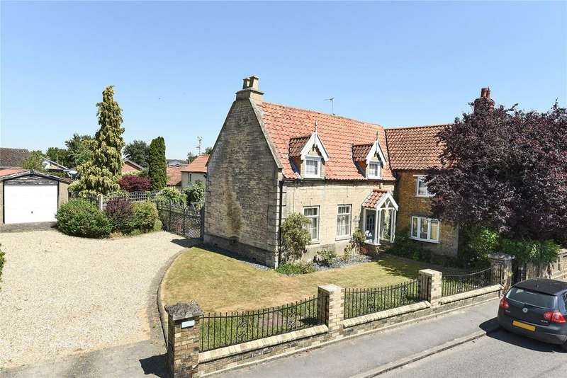 4 Bedrooms Detached House for sale in High Street, Ruskington, NG34