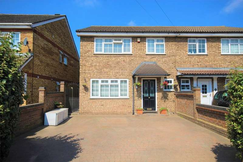 4 Bedrooms Semi Detached House for sale in Askwith Road, Rainham, Essex