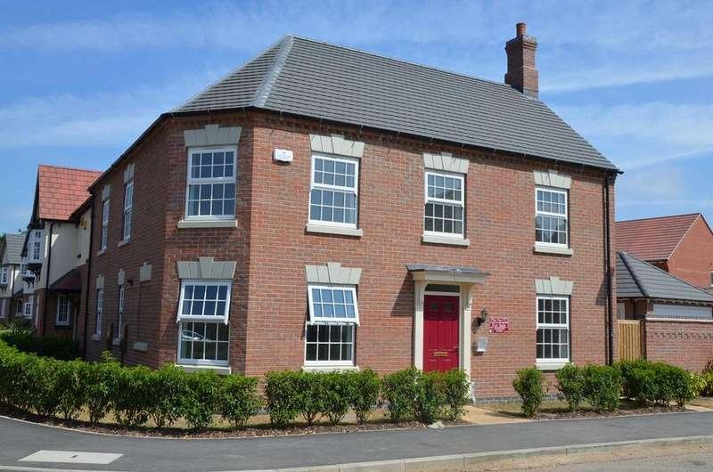 4 Bedrooms Detached House for sale in Woodstone Lane, Ravenstone, LE67