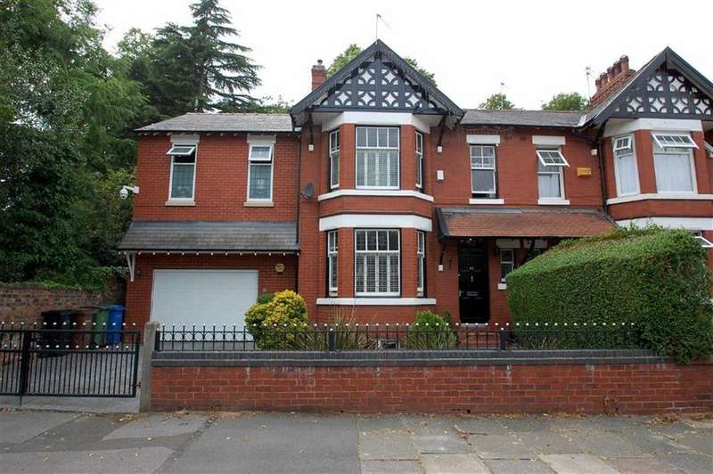 4 Bedrooms Semi Detached House for sale in Beechfield Road, Davenport, Stockport