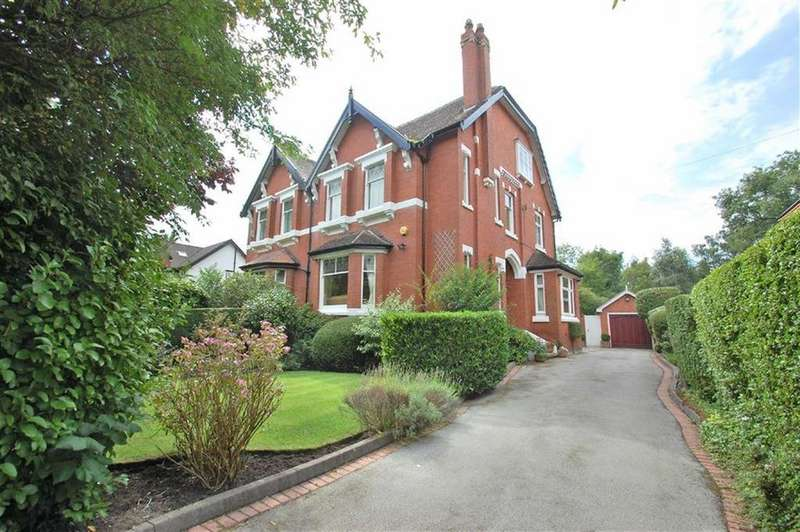 5 Bedrooms Semi Detached House for sale in The Crescent, Davenport, Cheshire