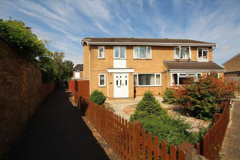 4 Bedrooms Semi Detached House for sale in Laburnum Road, Sandy, SG19
