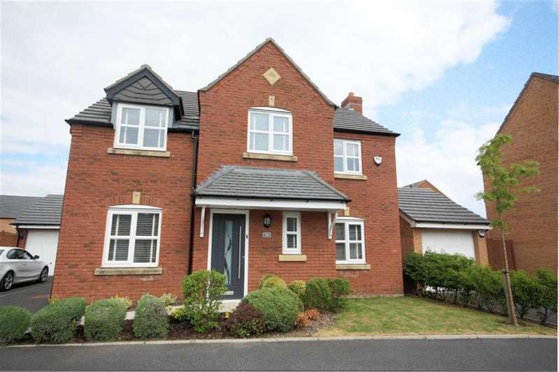 4 Bedrooms Detached House for sale in Linby Way, Lea Green, St Helens, WA9
