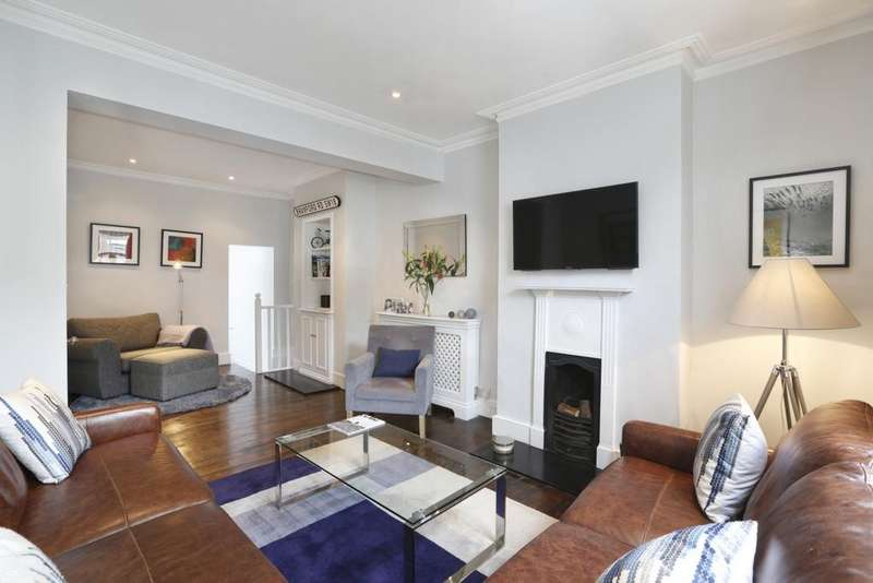 4 Bedrooms Terraced House for sale in Bramford Road, Wandsworth, SW18